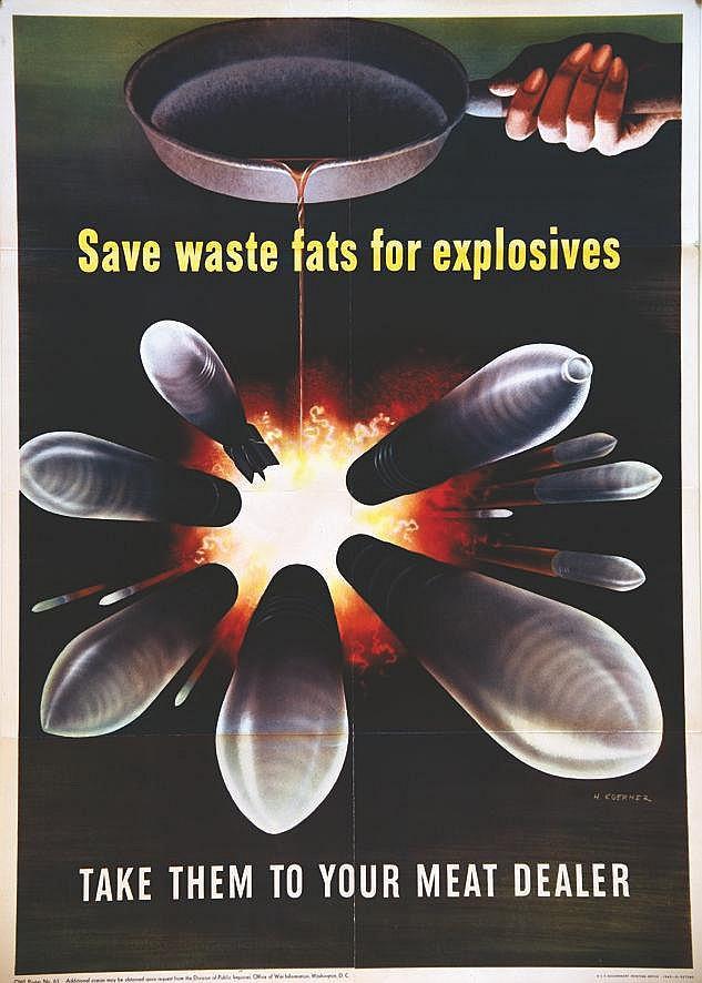 KOERNER H.  Save Waste Fats for Explosives     1943