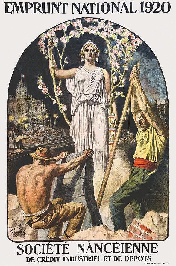 JONAS  Société Nancéienne de Crédit Industrile et de Dépots     1920