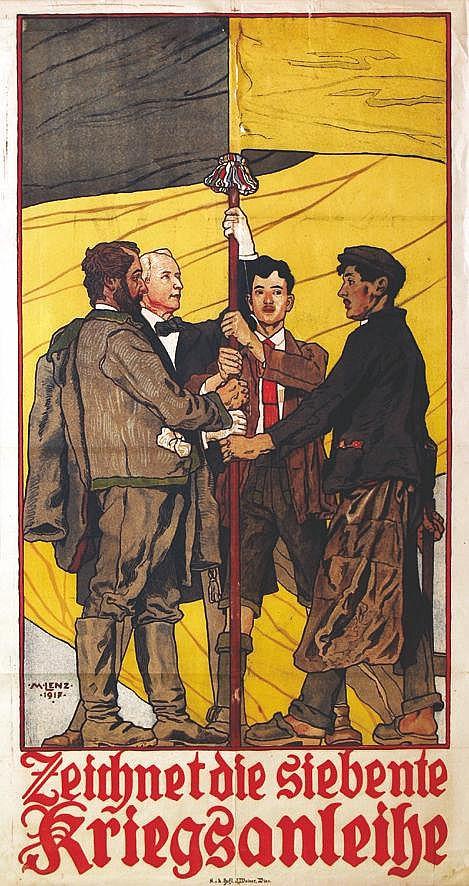 LENZ M.  Zeimnetdie Siedente Zriegsanreine     1917