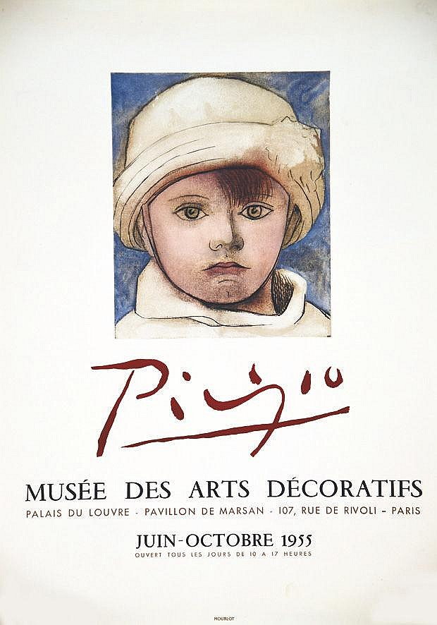 PICASSO PABLO Picasso Musée des Arts Décoratifs 1955