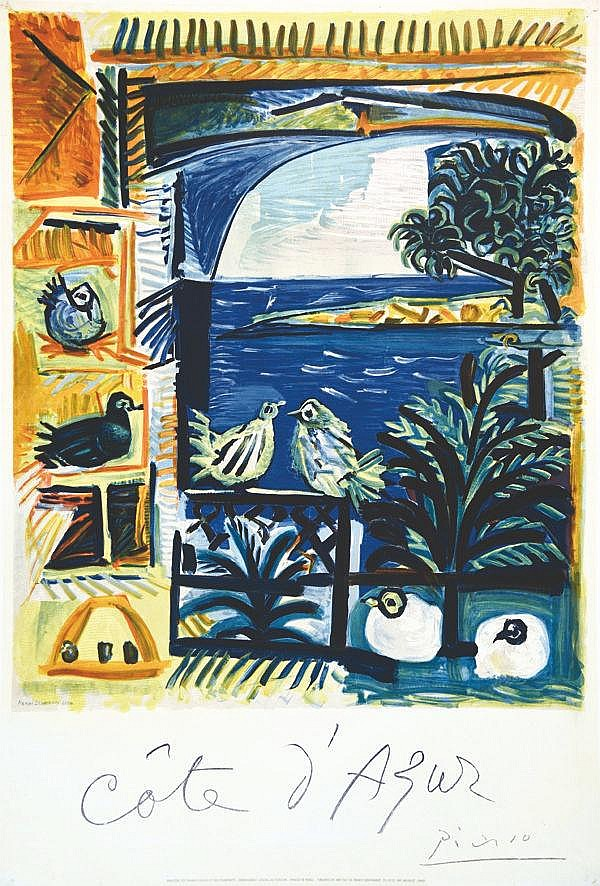 PICASSO PABLO  Côte d'Azur     1961