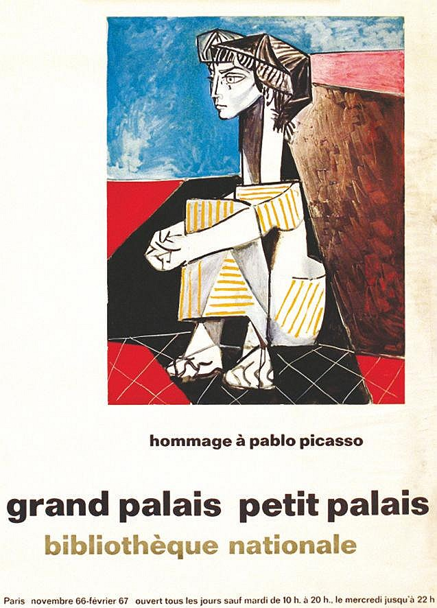 PICASSO PABLO Hommage à Pablo Picasso 1967