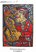 COMBAS ROBERT  Festival de Jazz de Paris     1989