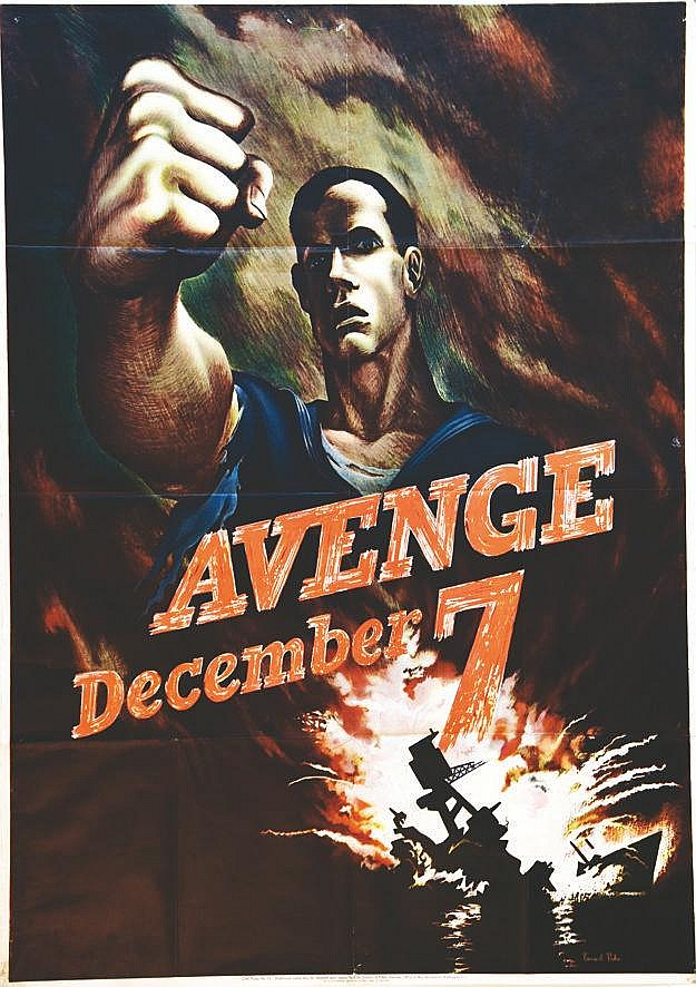 PERLIN BERNARD Avenge December 7th 1942