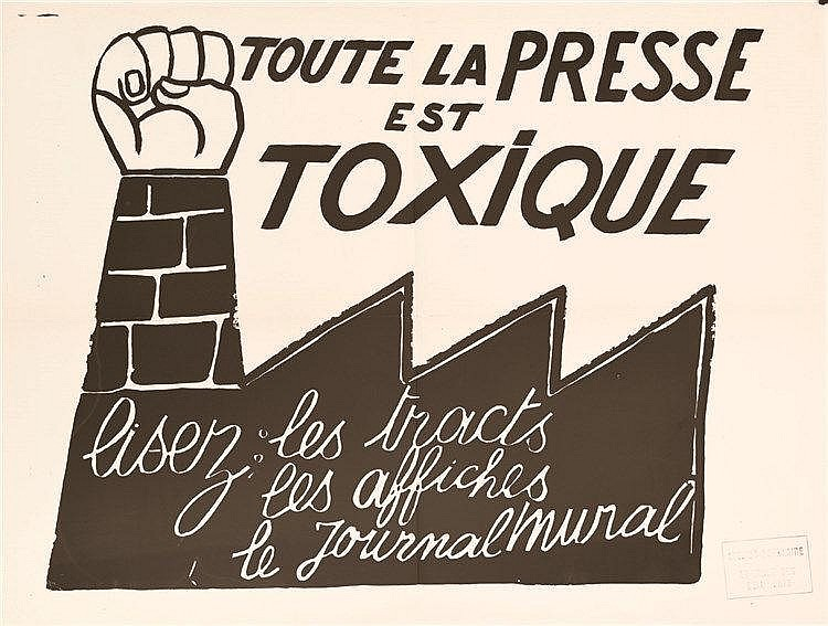 Toute la Presse esrt Toxique     1968