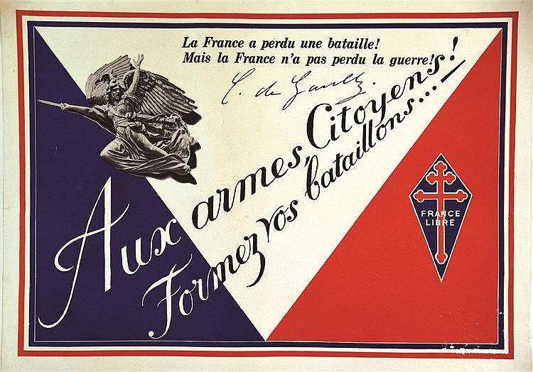 Aux Armes Citoyens Formez vos Bataillons     vers 1940