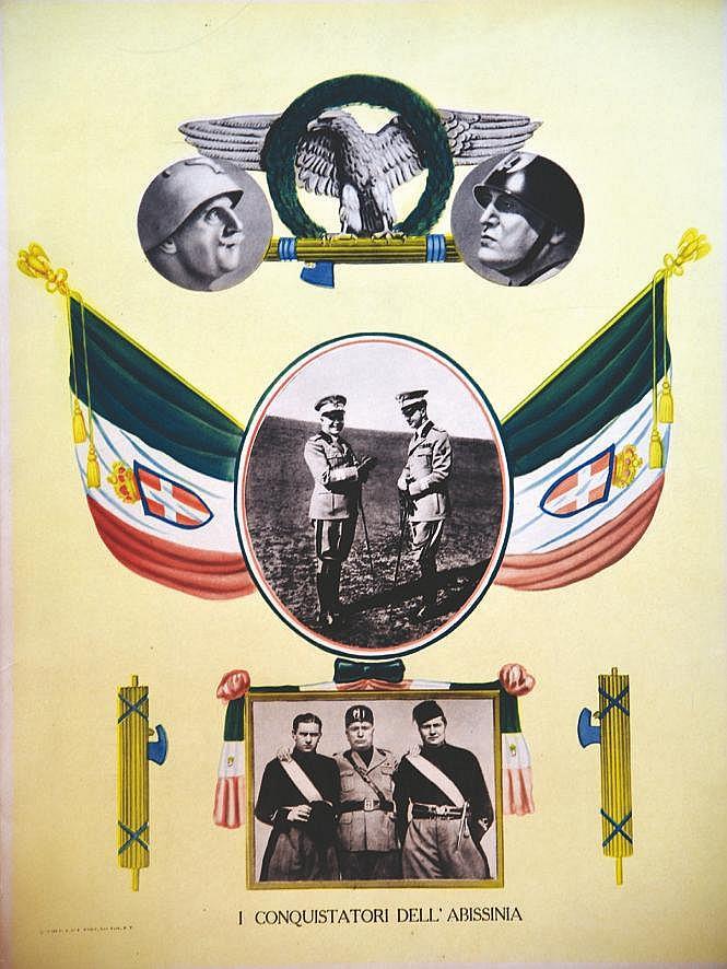 Mussolini - I conquistadori dell Abissinia     1936