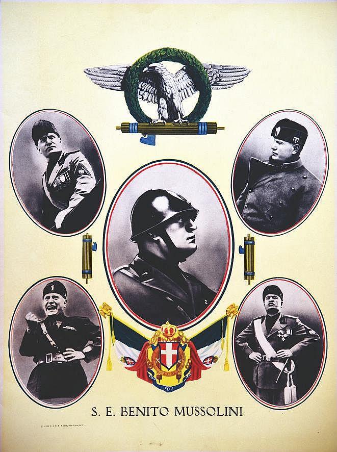 S.E. Benito Mussolini 1936