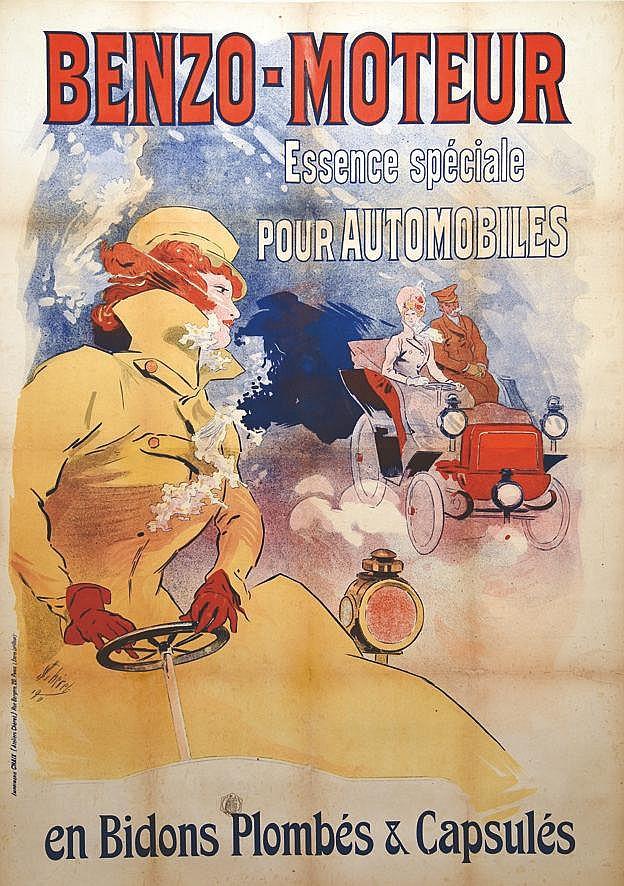 CHERET JULES  Benzo Moteurs     1890