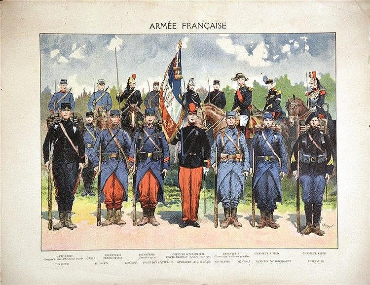 CARREY  Armée Française     1914