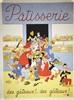 Patisserie, des Gâteaux!... des Gâteaux!... vers 1960, Albert Dubout, €280