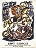 Saint Georges Patron des Soldats Scouts & de L'Angleterre 23 avril vers 1930, Jacques Le Chevallier, €160