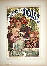 Bières de La Meuse Maître de l'affiche vers 1900