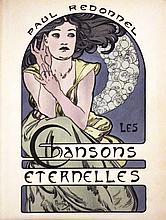 Chansons Eternelles Paul Redonnel - Lithograph 1898