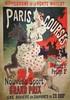 Paris Courses - Hippodrome de la Porte Maillot 1890, Jules Cheret, €160