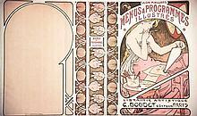 Menus & Programmes Illustrés G. Boudet Editeur vers 1900