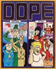 Dope Before /& After Poster Gilbert Shelton Freak Brothers FREE Pat Ryan Art