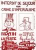 Interdit de Sejouur pour Crime D'imperialisme vers 1970, Andy Nixon, €160