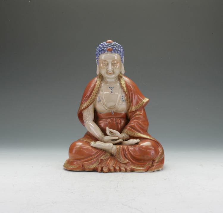Large Ceramic Buddha