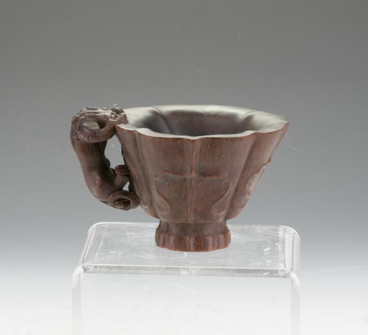 Horn Libation Cup