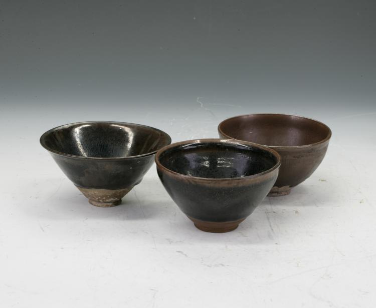 3 Jian Ware Bowls