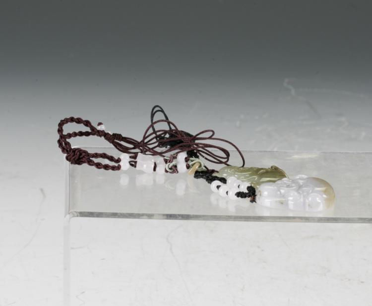 2 Jade Pendant