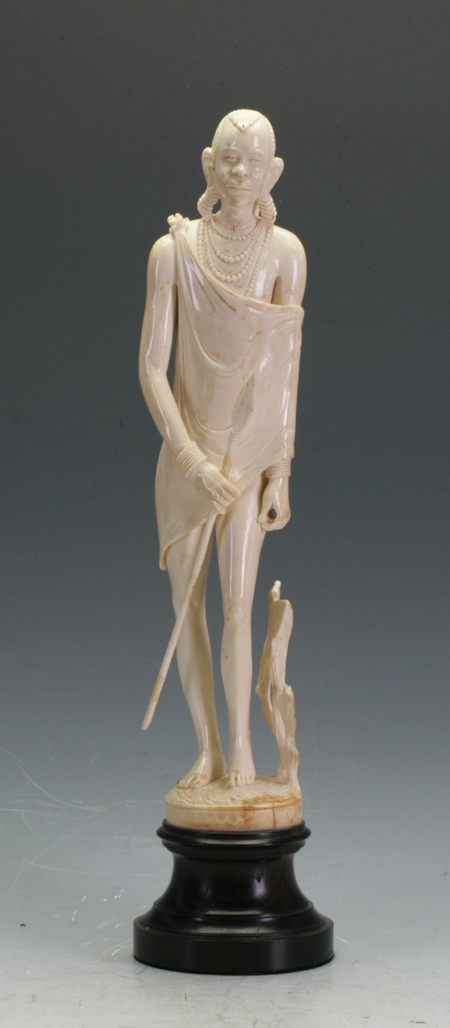An African Ivory Figure