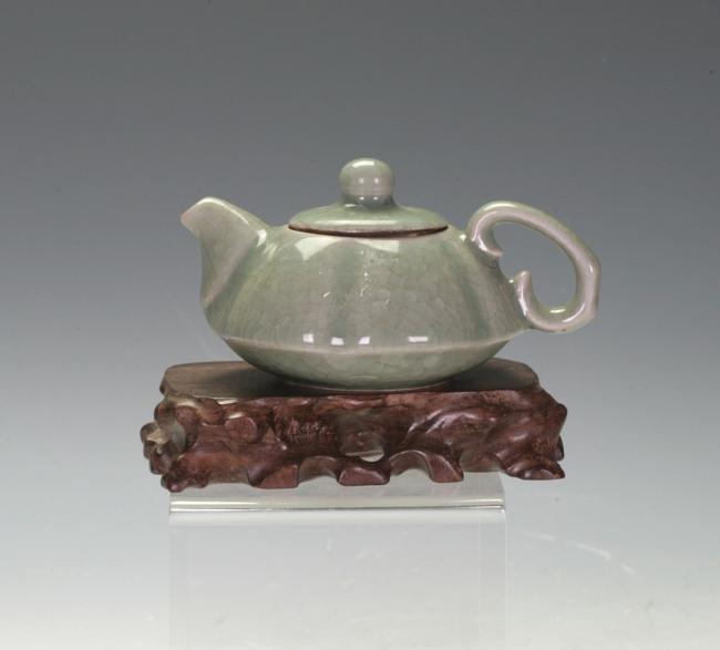A Celadon Teapot