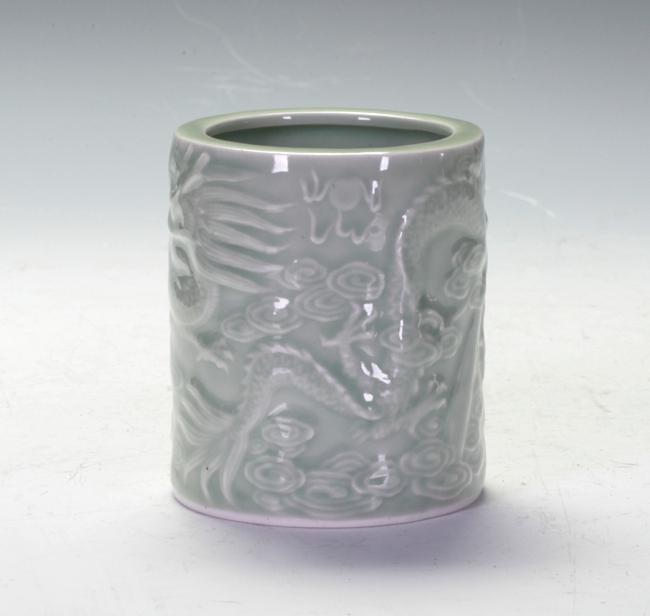 Celadon Brush Pot
