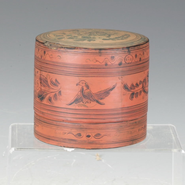 Lacquered Food Container