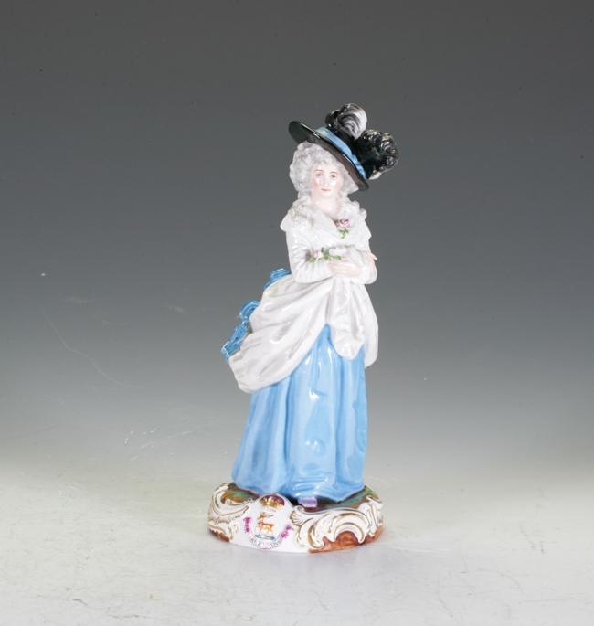 European Ceramic Figure