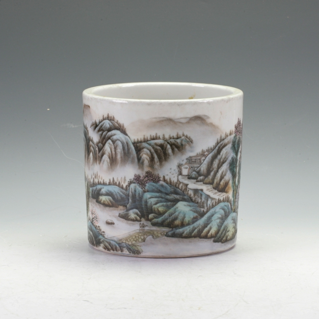 Chinese Brush Pottery