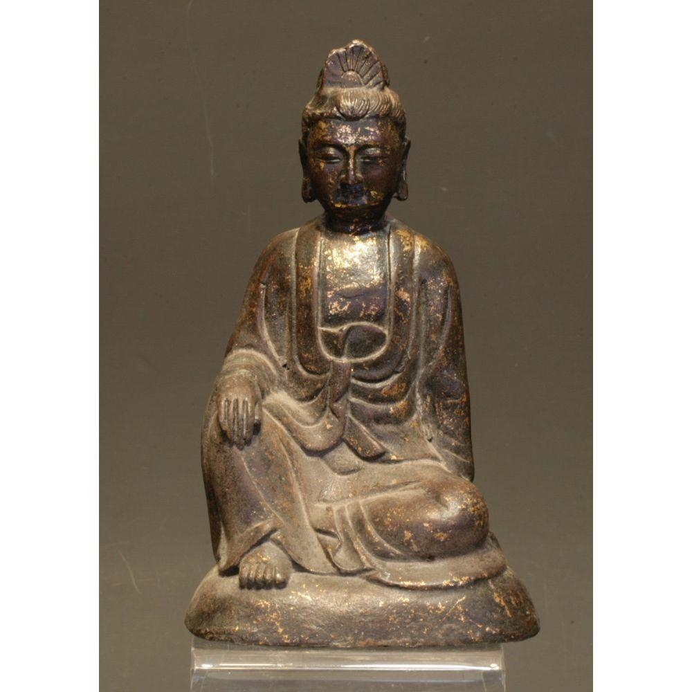 A bronze Buddhist