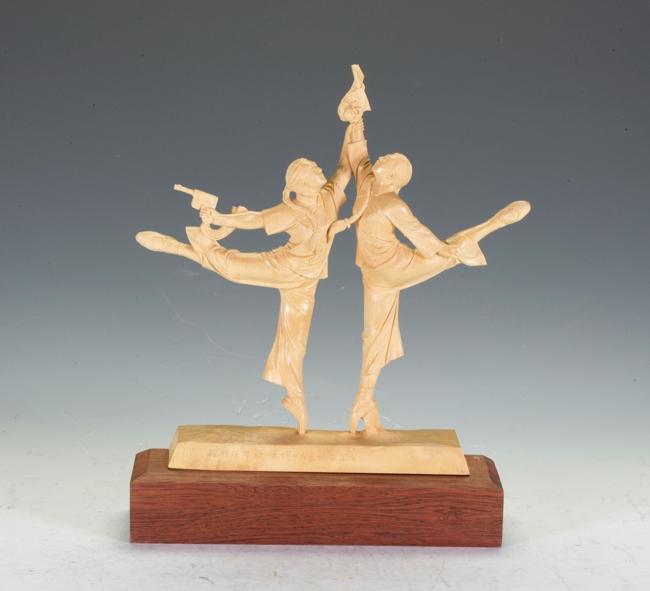 Box Wood Carving