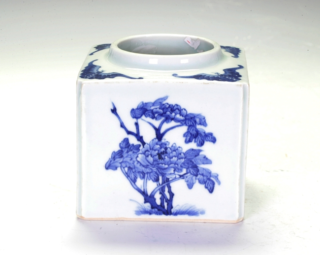 Chinese Blue And White Water Pot