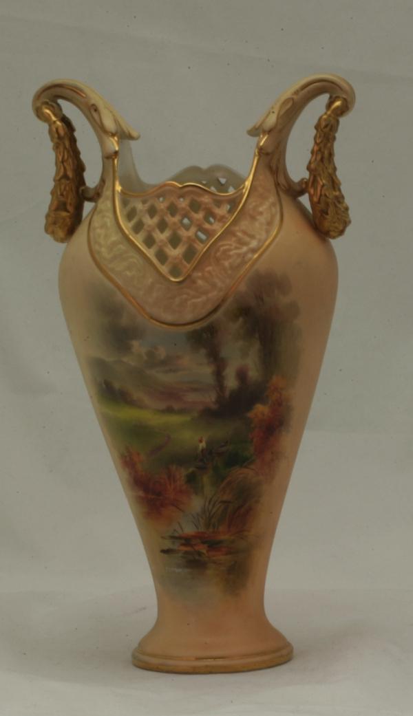 A Worcester Vase.