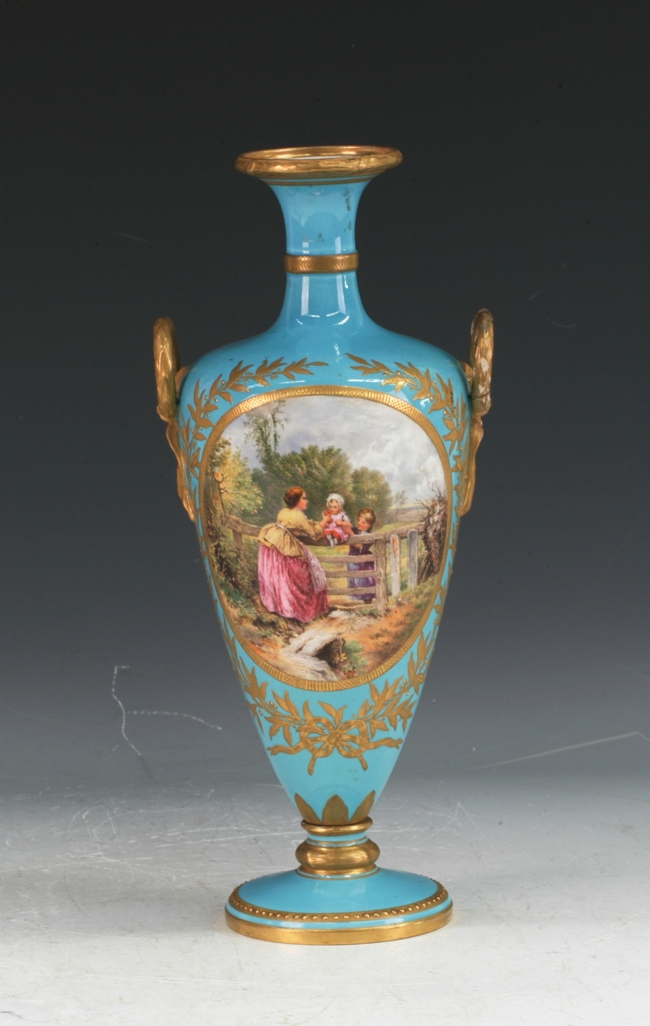 C19Th. Royal Worcester Vase