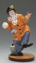 Royal Doulton Clown Figurine