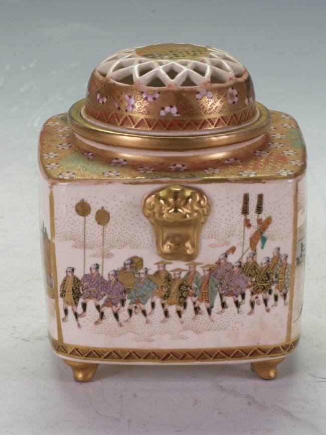 Japanese Satsuma Incense burner