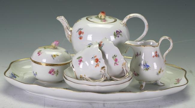 Meissen Tea Set