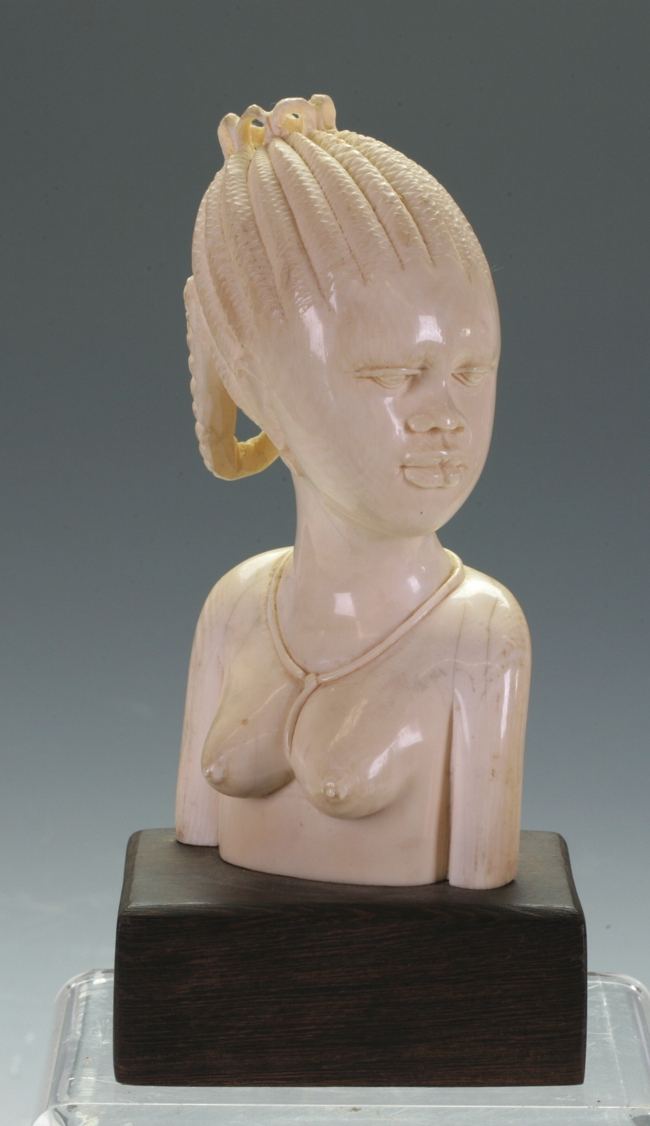 African Ivory Bust