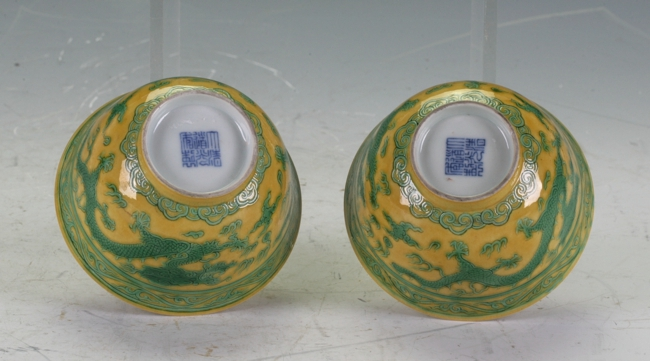 A Pair Chinese bowls