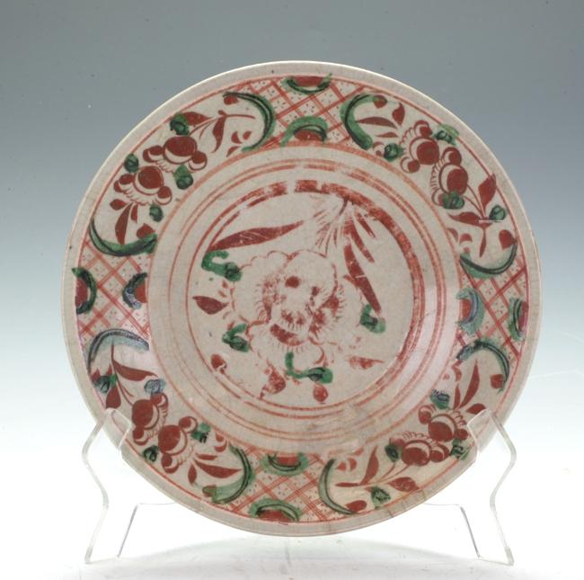 A vintage plate