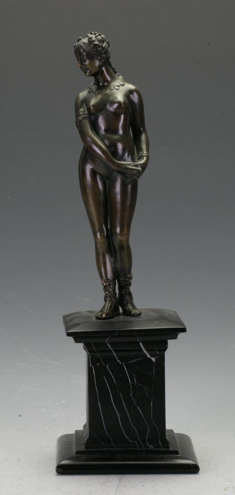 Bronze Nude Figure