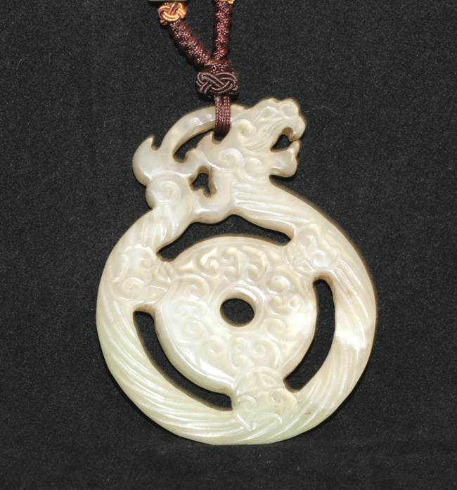 Celadon Jade Pendant