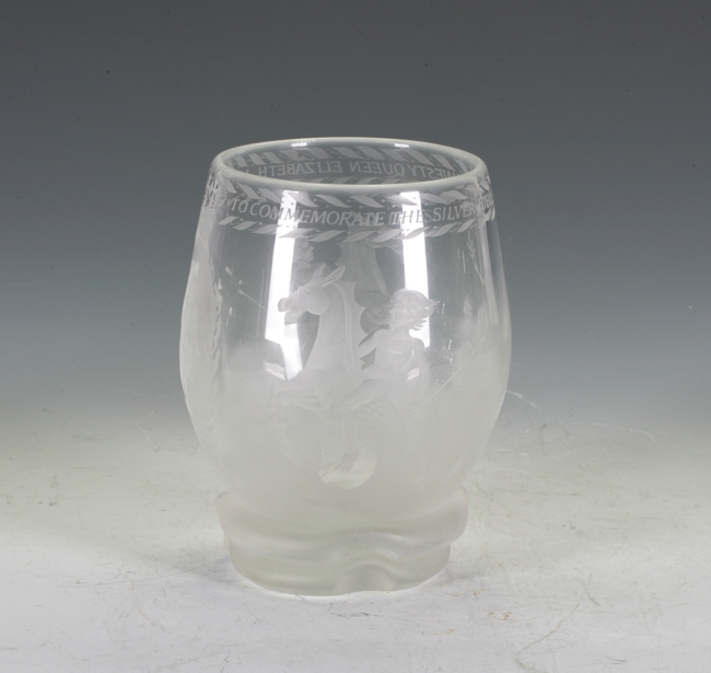 Commonwealth Glass Vase