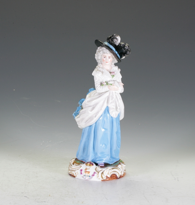European Ceramic Figure