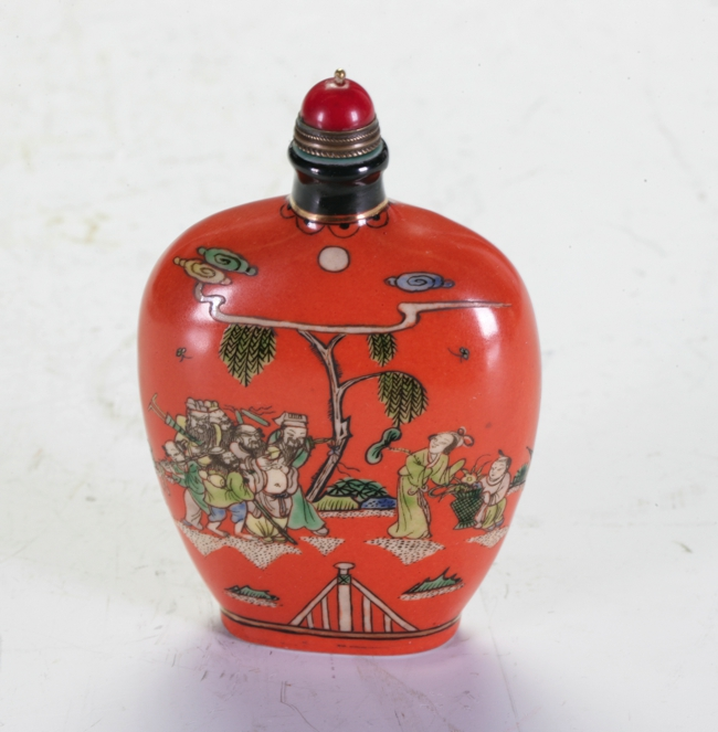 Ceramic Snuff Bottle