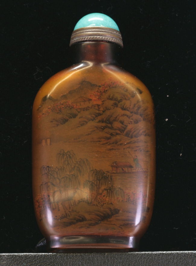 Glass Snuff Bottle