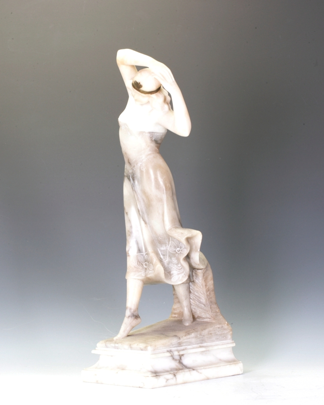 Marble and Alabaster figure